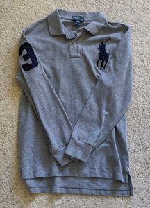 Polo Ralph Lauren boys long sleeve polo EUC